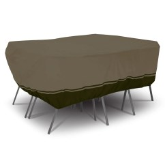 Patio Table And Chair Set Cover Ball Benefits Classic Accessories Villa Large 110 Rectangular