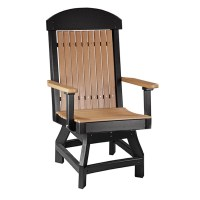 Luxcraft / Crestville Captains Swivel Dining Chair