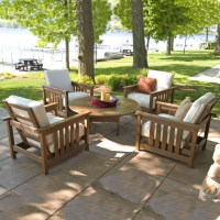 POLYWOOD 5 Piece Conversation Set - Mission Collection ...