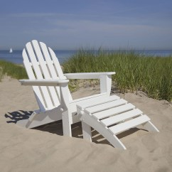 Polywood Adirondack Chairs Coleman Rocking Chair Ottoman Set Classic Outdoor Furniture Collections