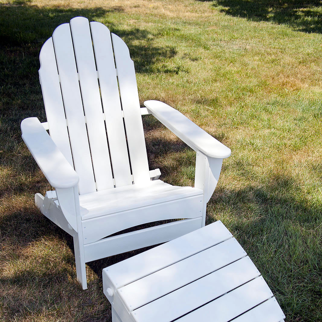 polywood adirondack chairs white lounge chair for bedroom classic oversized curveback