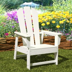 Poly Wood Adirondack Chairs Dining Bench And Polywood Original Chair As Seen On Qvc