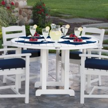 Polywood 48 Dining Table - Traditional Garden
