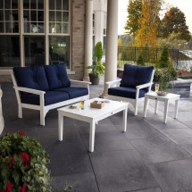 Polywood Vineyard 4-piece Deep Seating Set