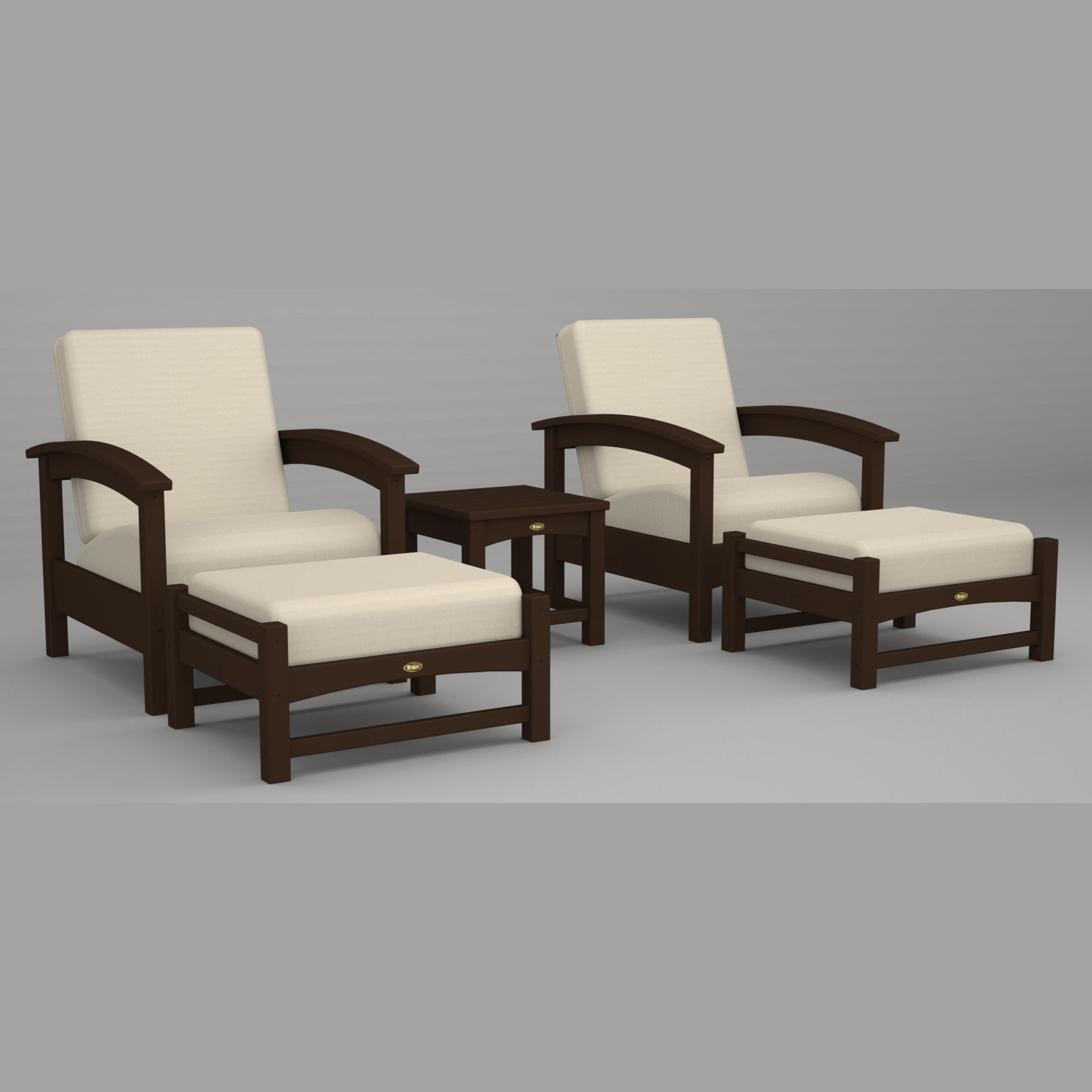 Trexr Outdoor Furniture Rockport 5 Pc Deep Seating Set