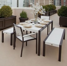 Trex Outdoor Furniture Surf City Picnic Dining Set