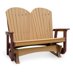 Double Adirondack Chairs With Umbrella Circular Lounge Chair Amish Poly Wood Seaaira Glider Finch