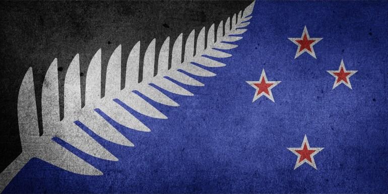 Entwurf der neuen Flagge für Neuseeland