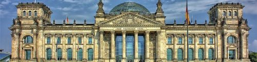 German parliament is elected through proportional vote.