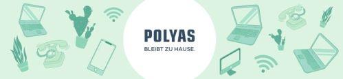 Telearbeit: POLYAS im Homeoffice