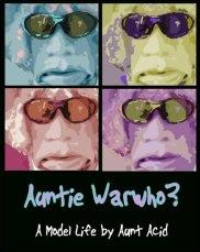 Aunt Acid book cover made in Illustrator