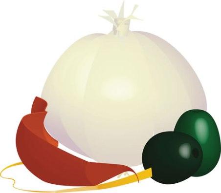 garlic pepper olives in Illustrator