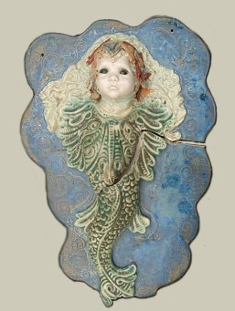 ceramic mermaid