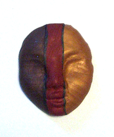 Bob Wiley miniature polymer clay mask
