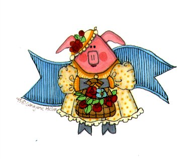 pig illustration banner