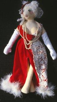 Mrs.Santa cloth doll