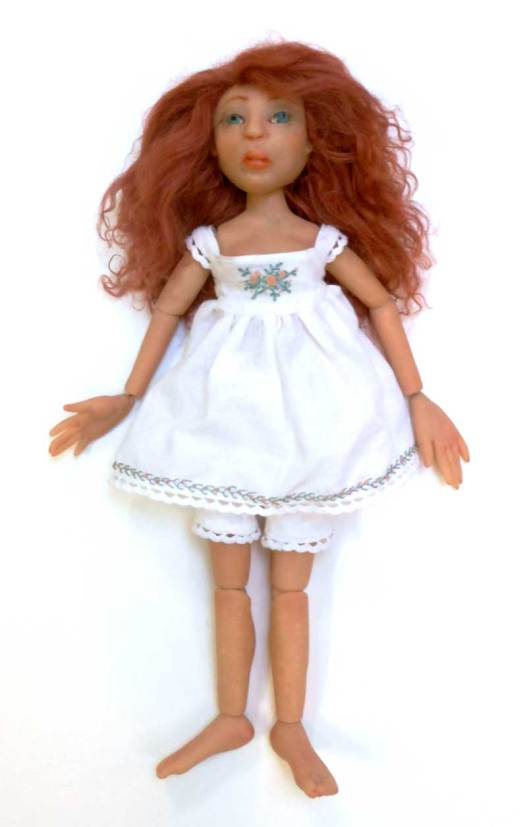 Aurora Rose ball joint doll