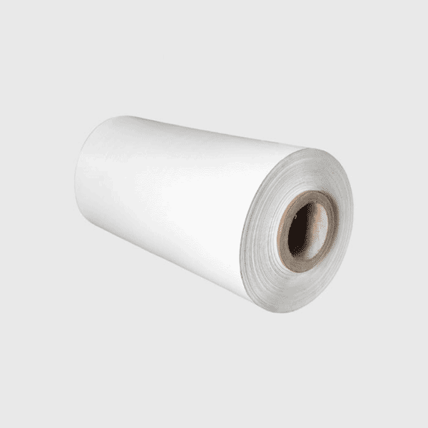 Bobina film macchinabile bianco polycomm