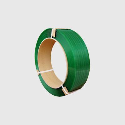 Rotolo reggia PET verde Polycomm
