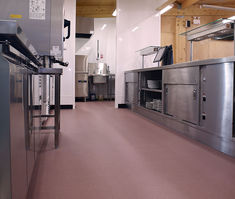 commercial kitchen flooring lacquer cabinets kitchens polyflor canada inc learn more about polysafe apex or contact to discuss your specific needs for