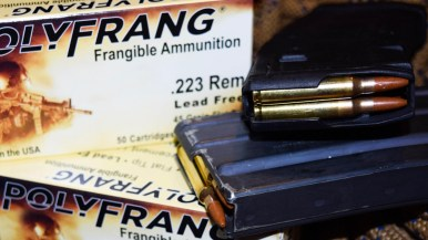 .223 5.56 mm Polyfrang Frangible Ammunition - different Magazines