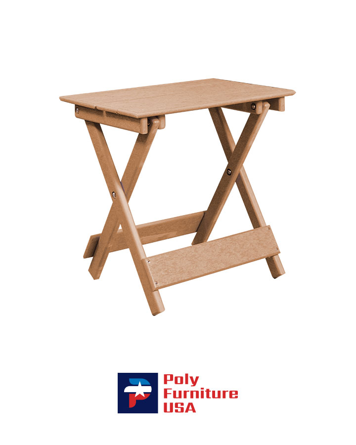 Amish Made Poly Furniture USA All Weather Poly Table Cedar