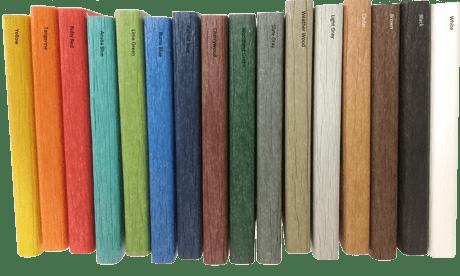 Poly Color Chart - Horizontal