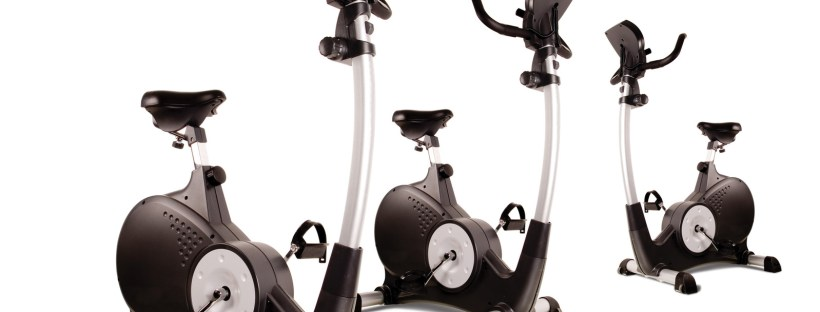A row of fitness bikes for physical engagement in the gym