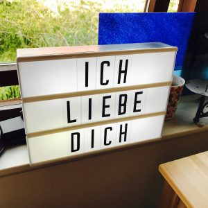 An LED Lightbox