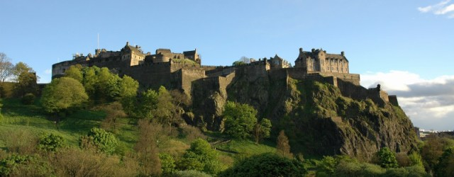 Edinburgh Castle is a stunning backdrop to the Edinburgh Fringe each August
