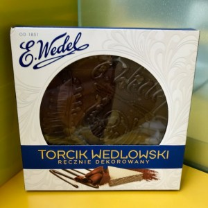 Polski torcik from my Polish teacher!