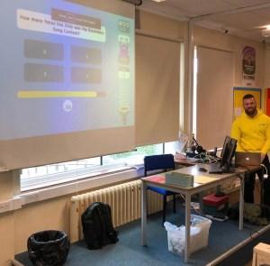 Presenting Educandy at the MFL Twitterati Conference