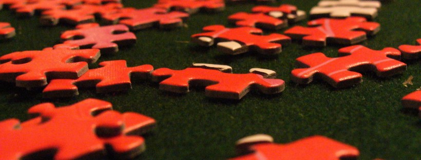 How many languages should we learn at once? How many pieces of the jigsaw do you need? Image by Gary Fleischer on freeimages.com.