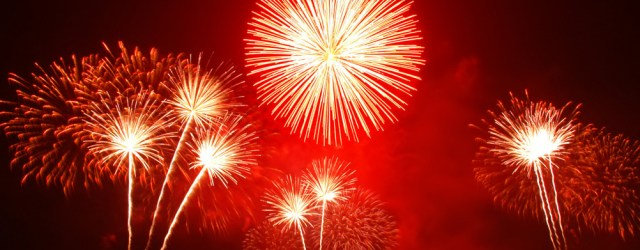 A bit of self-discipline and soon you'll be celebrating with fireworks. Image from freeimages.com
