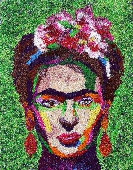 Angela Bahrenholtz chops her clay into polymer pointillist masterpieces