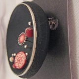 Judy Belcher's dimensional pin/sculpture