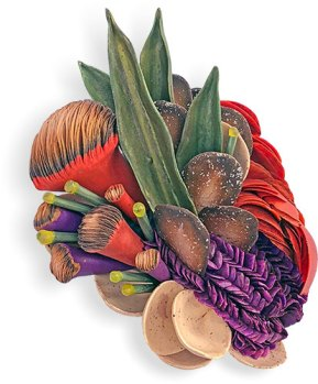 Jana Roberts Benzon taps into her floral design past on PolymerClayDaily.com