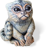 Corbitt's pigmy marmoset visits PolymerClayDaily.com during whimsy week