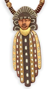 Debbie Jackson explores black culture on a string on PolymerClayDaily