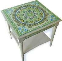Bridget Derc's step-by-step tabletop on PolymerClayDaily.com