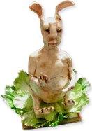 Buddha bunny by Goodin