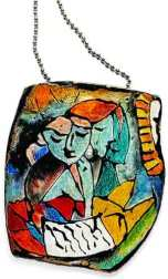 Cecelia Leonini unleashes Picasso on polymer