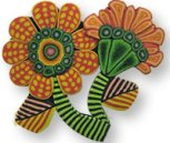 Kim Korringa's flower pin 2