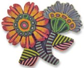 Kim Korringa's flower pin3