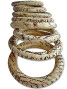 Elvira Lopez del Prado's polymer bangles