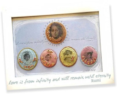 Monica Rotti turns photo transfers into an heirloom on PolymerClayDaily