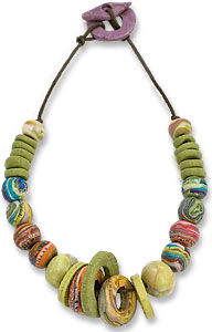 Moucadel's loose style necklace