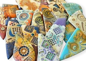 Julie Picarello's secrets come from the hardware store on PolymerClayDaily.com