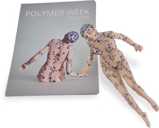 Polymer Week magazine (it's quarterly) gives polymer art cache on PolymerClayDaily.com
