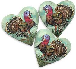 Ron Lehocky and Jayne Dwyer bring us Thanksgiving turkeys on PolymerClayDaily.com